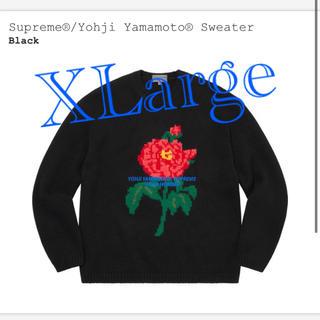 シュプリーム(Supreme)のSupreme Yohji Yamamoto Sweater XLarge(ニット/セーター)
