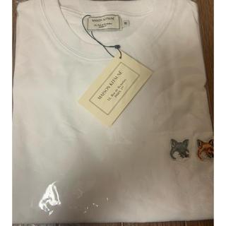メゾンキツネ(MAISON KITSUNE')のメゾンキツネTシャツ Mサイズ 値下げ(Tシャツ/カットソー(半袖/袖なし))