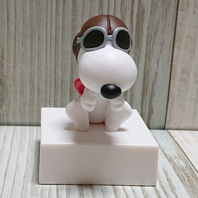 SNOOPY(スヌーピー)の【スヌーピー】フライングエース ガチャ✨ エンタメ/ホビーのおもちゃ/ぬいぐるみ(キャラクターグッズ)の商品写真