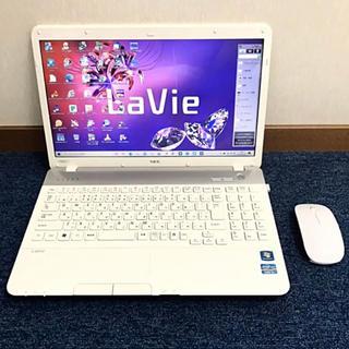 NEC - ☆極美品ホワイト☆ 第2世代i5/新品SSD/ブルーレイ LS550/F