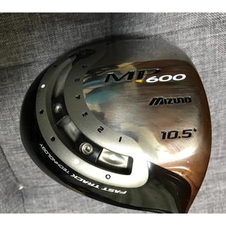 ミズノ(MIZUNO)の【希少シャフト・程度良】MP600ドライバー バサラF53 Rフレックス(クラブ)
