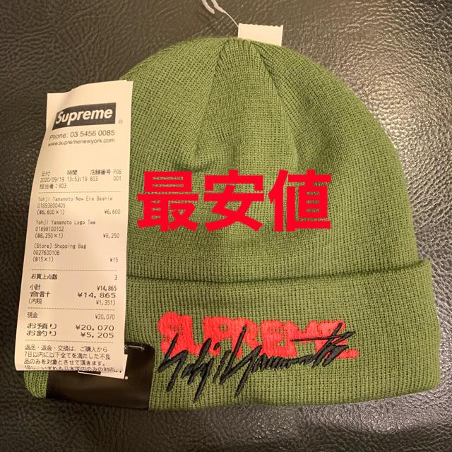 Supreme(シュプリーム)のsupreme yohji yamamoto new era beanie メンズの帽子(ニット帽/ビーニー)の商品写真