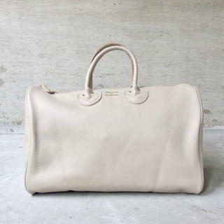 Spick and Span - YOUNGOLSEN EMBOSSED LETHER BOSTON M ベージュ