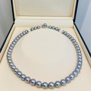 タサキ(TASAKI)の【TASAKI】超美品 8mm あこや真珠 ネックレス 20i-5(ネックレス)
