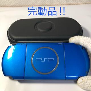 PlayStation Portable - ★完動品‼︎ PSP-3000 VIBRANT BLUE 送料込!