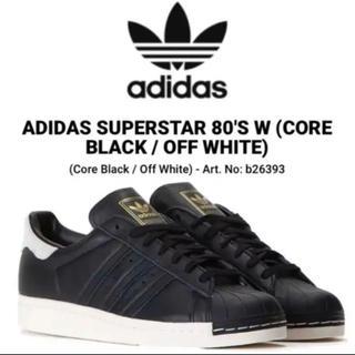 アディダス(adidas)の【新品】adidas アディダス SUPERSTAR 80s W スーパースター(スニーカー)