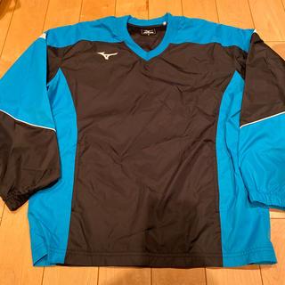 ミズノ(MIZUNO)のミズノ ウインドブレーカーシャツ美品テニスバトミントン(ウェア)