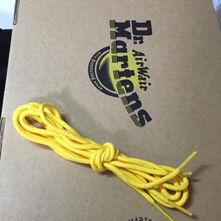 ドクターマーチン(Dr.Martens)のドクターマーチン 靴紐 黄色(その他)