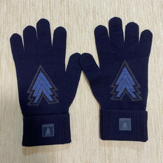 ルイヴィトン(LOUIS VUITTON)の「未使用」 ルイヴィトン 手袋 ウール M70000 トリプルV(手袋)