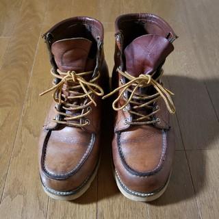 レッドウィング(REDWING)のレッドウィング アイリッシュセッター 875 裏半円犬 ブーツ 7E 25cm(ブーツ)