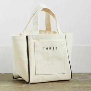 THREE - three スリー ノベルティトートバッグ 限定