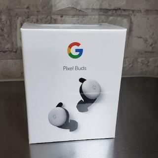 新品 Google Pixel Buds 完全ワイヤレス ホワイト(ヘッドフォン/イヤフォン)