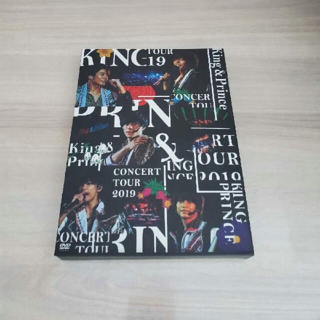 新品同様 King & Prince CONCERT TOUR 2019 DVD エンタメ/ホビーのDVD/ブルーレイ(ミュージック)の商品写真