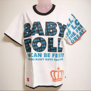 BABYDOLL - タグ付き BABY DOLL レディースM Tシャツ ホワイト