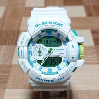 CASIO - 良品【CASIO/G-SHOCK】デジアナ メンズ腕時計 GA-400WG