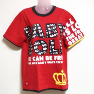 BABYDOLL - タグ付き BABY DOLL レディースM Tシャツ レッド