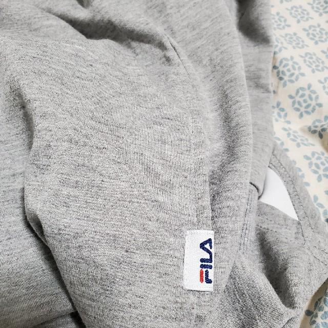 FILA(フィラ)のFILAフードワンピ レディースのワンピース(ひざ丈ワンピース)の商品写真