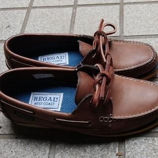 リーガル(REGAL)のREGALデッキシューズ 23.5(ローファー/革靴)