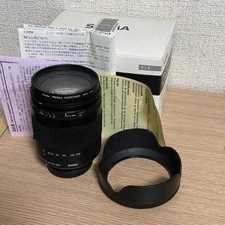 シグマ(SIGMA)のSigma 18-200 F3.5-6.3 DC Macro ズームレンズ(レンズ(ズーム))