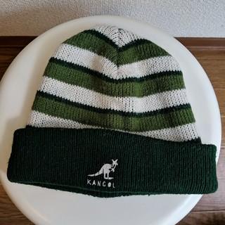 カンゴール(KANGOL)のKANGOL ニットキャップ 帽子 カンゴール ニット帽 ビンテージ(ニット帽/ビーニー)
