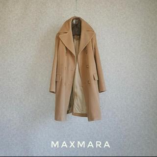 マックスマーラ(Max Mara)の美品 MAX MARA マックスマーラ 一級品イタリア製 豪華チェスターコート(チェスターコート)