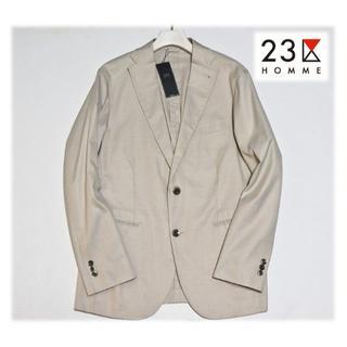 ニジュウサンク(23区)の新品【23区HOMME】SARTORIA シャンブレードビージャケット 48L(テーラードジャケット)