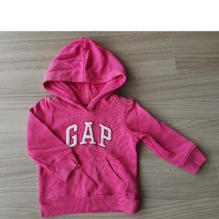 ベビーギャップ(babyGAP)のbabyGAP トレーナー パーカー 90(Tシャツ/カットソー)