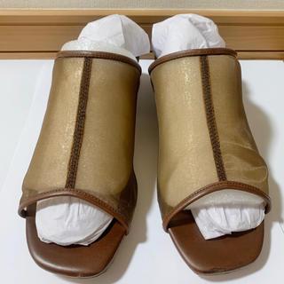 TODAYFUL - Sheer Piping Sandals シアーパイピングサンダル