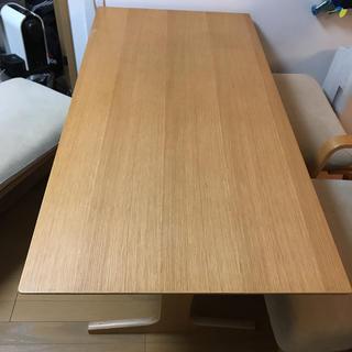 ムジルシリョウヒン(MUJI (無印良品))の無印良品 リビングでもダイニングでも使えるテーブル(ダイニングテーブル)