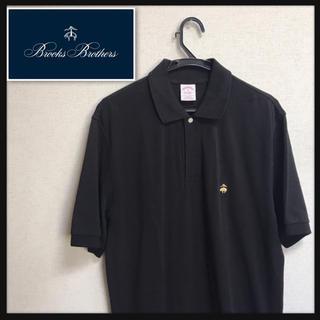 ブルックスブラザース(Brooks Brothers)のBrooks Brothers 半袖 ポロシャツ ブラック クリーニング済(ポロシャツ)