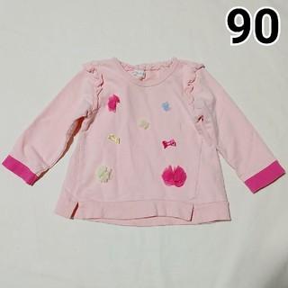 ビケット(Biquette)の90 Biquette トップス トレーナー(Tシャツ/カットソー)