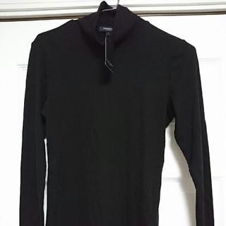 バーバリー(BURBERRY)のBURBERRY タートルネック ブラック メンズ サイズ2 未使用(ニット/セーター)