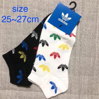 アディダス(adidas)の未使用 靴下 アディダス ソックス サイズ25〜27cm(ソックス)