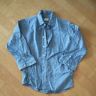 グローバルワーク(GLOBAL WORK)のグローバルワーク リネンシャツ メンズ 七分丈 シャツ(シャツ)