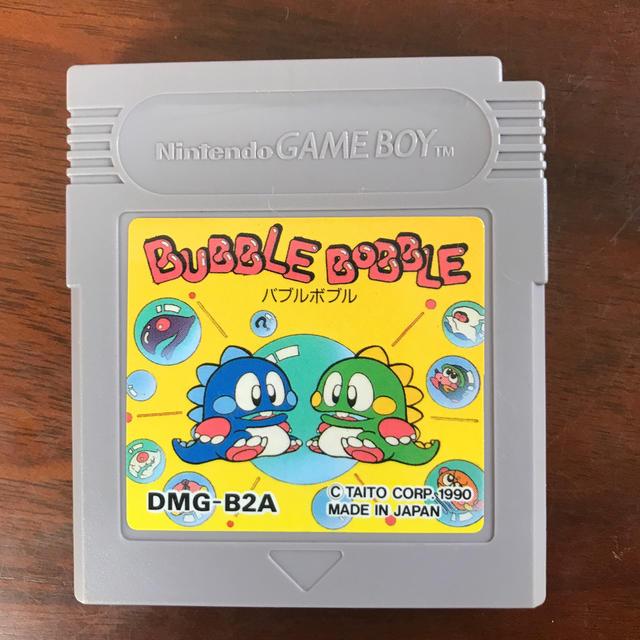 ゲームボーイ(ゲームボーイ)の(専用)BUBBLE BOBBLE エンタメ/ホビーのゲームソフト/ゲーム機本体(携帯用ゲームソフト)の商品写真
