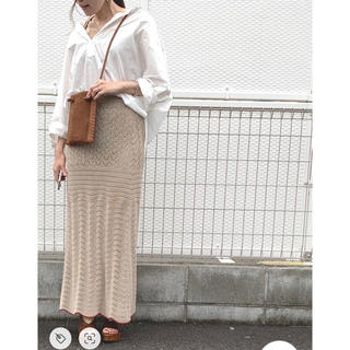 TODAYFUL - TODAYFUL lacy knit skirt  レーシーニットスカート