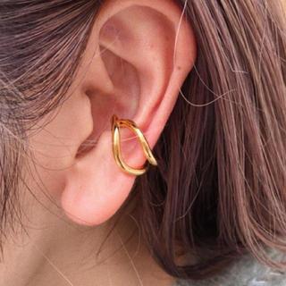 IENA - ✔️カーブラインイヤーカフ ゴールド 片耳