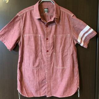 半袖シャツ サイズ:L 40  メーカー:桃太郎ジーンズ  一度しかしてません