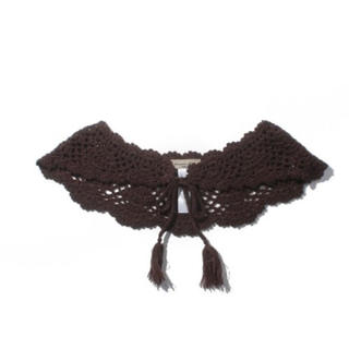 サマンサモスモス(SM2)のSM2 手編みかぎ針ニットつけ襟(つけ襟)