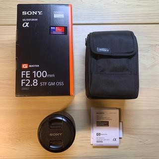 ソニー(SONY)のSEL100F28GM  美品 ソニー(レンズ(単焦点))