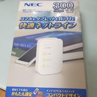 エヌイーシー(NEC)の無線LANルーター★NEC PA-WR8165N-ST(PC周辺機器)