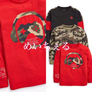 ネクスト(NEXT)の【新品】next マルチ 長袖コントローラーTシャツ3枚組(オールド)(Tシャツ/カットソー)