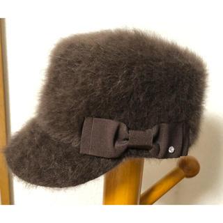 ファー帽子