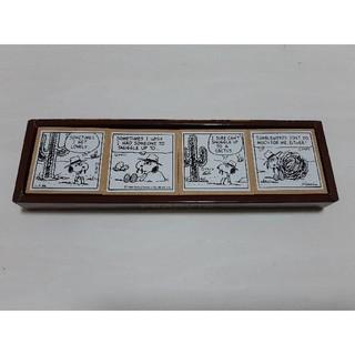 ピーナッツ(PEANUTS)のpeanuts/FELISSIMO スヌーピーコミックスタンプ4個セット(はんこ)