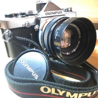 OLYMPUS - 絶品 銘品 OLYMPUS オリンパス OM-1N シルバー 50mm f1.8