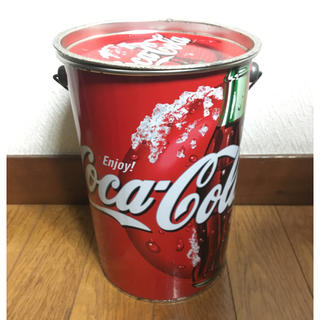 コカコーラ(コカ・コーラ)のコカコーラ ビンテージ ダッシュボックス 収納缶 コカコーラ缶(その他)