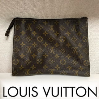 LOUIS VUITTON - ルイヴィトン LOUIS VUITTON モノグラム ポーチ セカンドバッグ