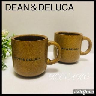 DEAN & DELUCA - DEAN&DELUCAディーン&デルーカ コーヒーマグカップ ブラウンコップ