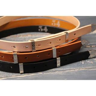 サンシー(SUNSEA)のSUNSEA 19ss Cowboy Belt(ベルト)