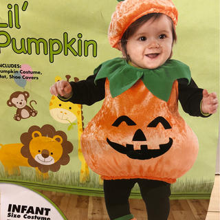 ハロウィンコスチューム かぼちゃ 90